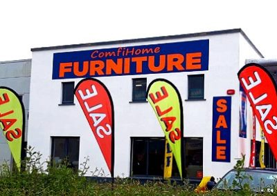 comfihome furniture - sale flags
