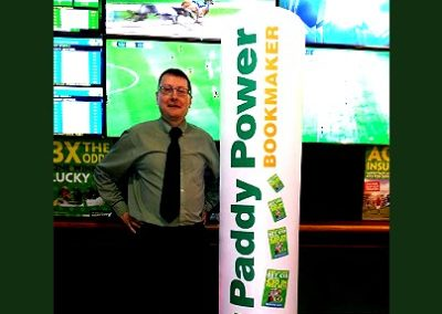 Paddy Power Inflatable Display